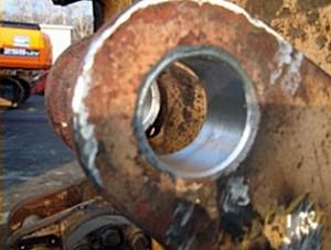 Восстанавливаем отверстия диаметром от 80 до 600 мм путем расточки-наплавки